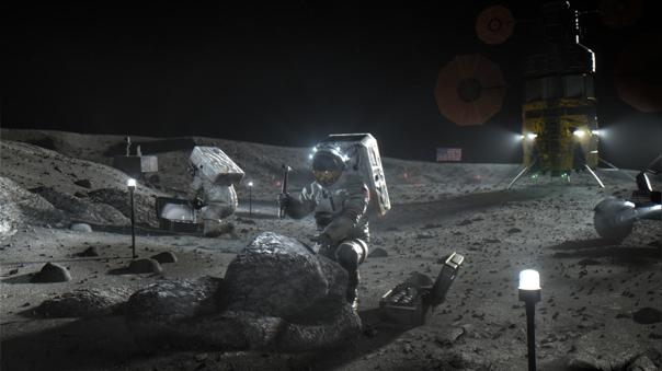 Estados Unidos ha mostrado el interés de volver a enviar astronautas a la Luna y tiene planes de establecer una base en el satélite.