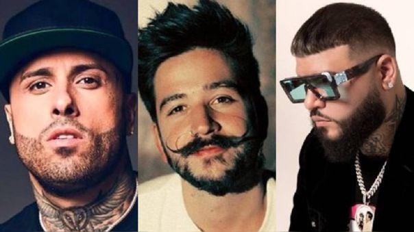 Nicky Jam, Camilo y Farruko