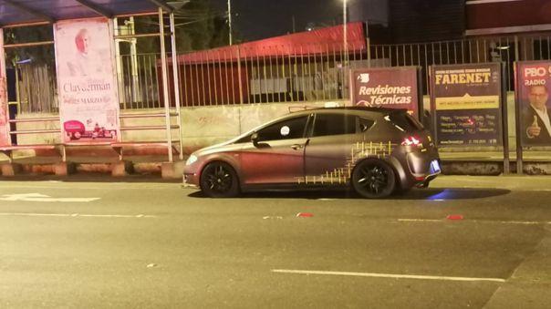 El conductor del vehículo se encuentra en calidad de detenido.