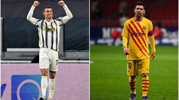 Cristiano Ronaldo y Lionel Messi competirán en el Globe Soccer Awards