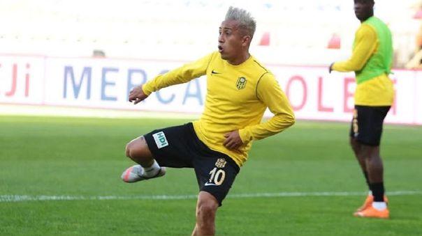 Christian Cueva fue separado del primer equipo de Yeni Malatyaspor