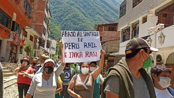 protestas Machu Picchu