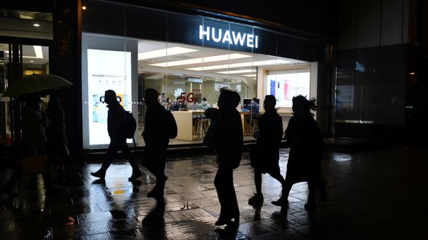 CHINA-ECONOMY-TELECOMMUNICATIONS-HUAWEI