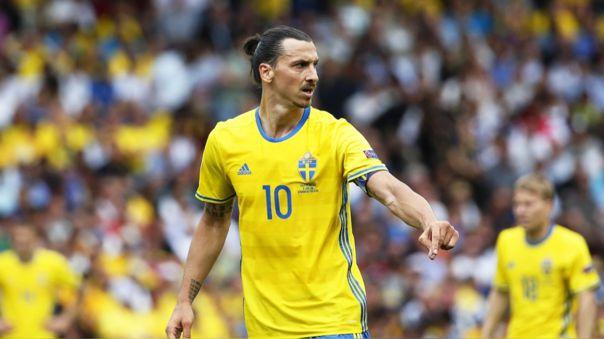Zlatan Ibrahimovic es el máximo goleador de la Selección de Suecia