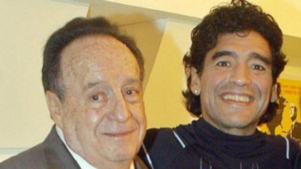 Diego Maradona y Chespirito