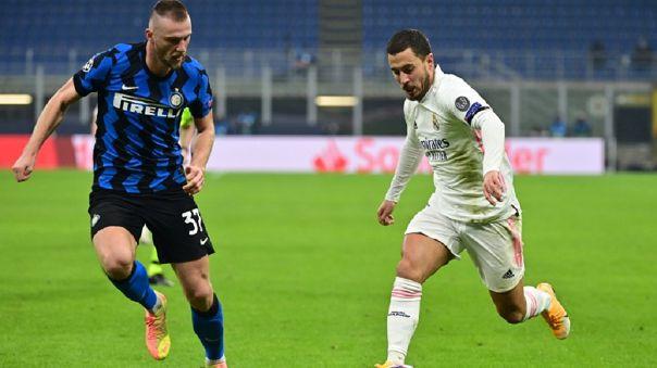 Real Madrid venció 2-0 a Inter de Milán en San Siro