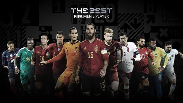 Nominados al premio The Best FIFA 2020