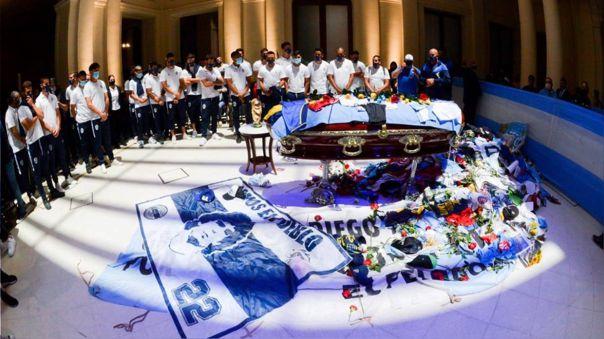 Gimnasia fue el último club que dirigió Diego Maradona
