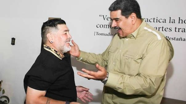Maradona - Maduro