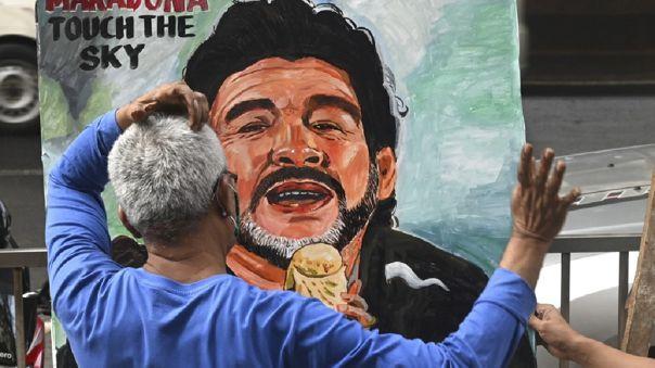 Maradona falleció este miércoles a los 60 años víctima de un paro cardíaco.