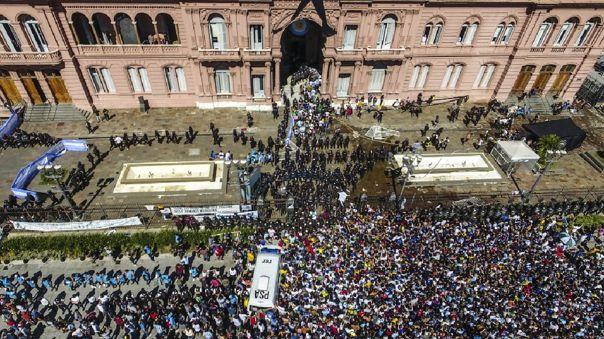 Funeral de Diego Maradona