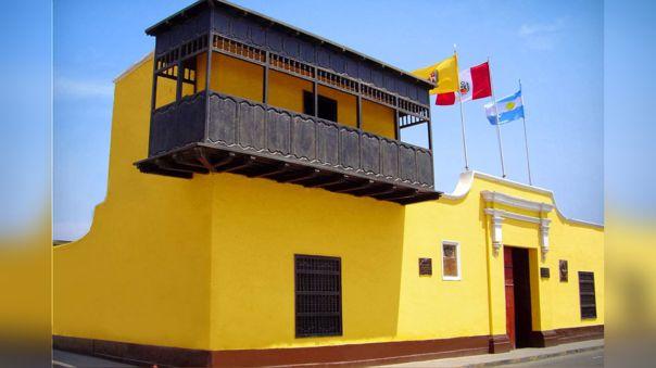 Balcón histórico de Huaura