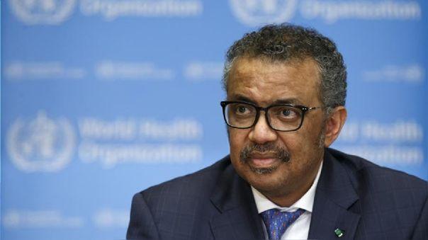 El director general de la Organización Mundial de la Salud (OMS), Tedros Adhanom Ghebreyesus.