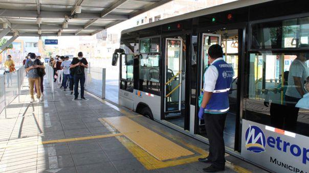 Metropolitano de Lima suspenderá su servicio totalmente.
