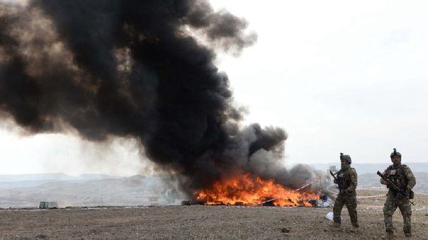 Las autoridades del pueblo explicaron que una de las víctimas fue apuñalada mortalmente.