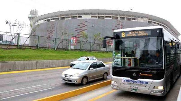 Metropolitano cierra estación Estadio Nacional.