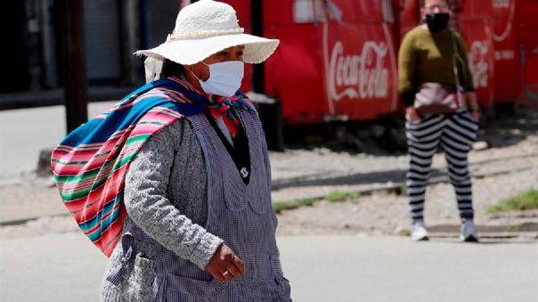 Bolivia ha reportado 8 949 decesos y 144 592 casos confirmados de COVID-19
