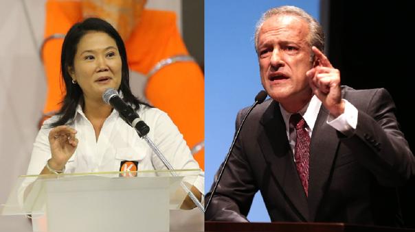 Keiko Fujimori y Nano Guerra García
