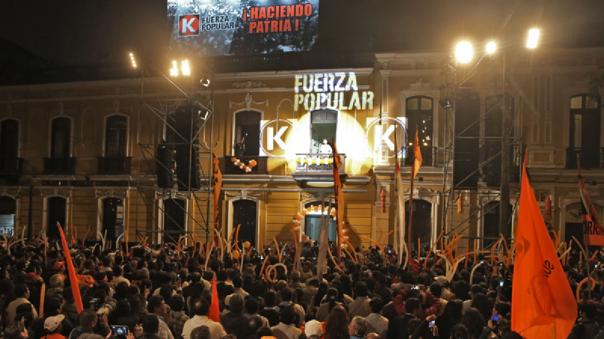 Poder Judicial evalúa pedido para suspender a Fuerza Popular.