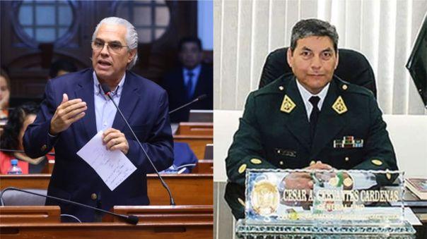 Costa negó que haya estado detrás de la designación de Cervantes Cárdenas como comandante general de la PNP.