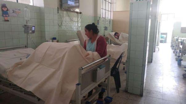 Falta más camas y personal médico para atender a pacientes en el área de quemados del Hospital Las Mercedes