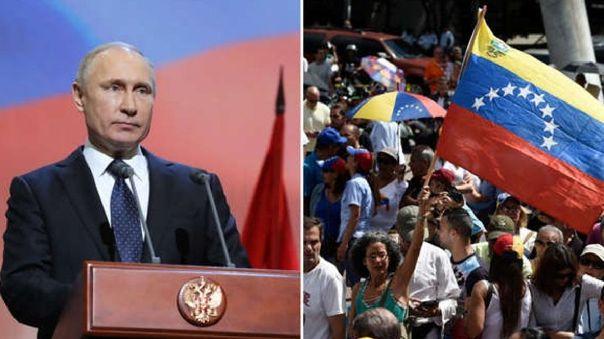 Rusia es uno de los pocos países que respalda el régimen de Nicolás Maduro.