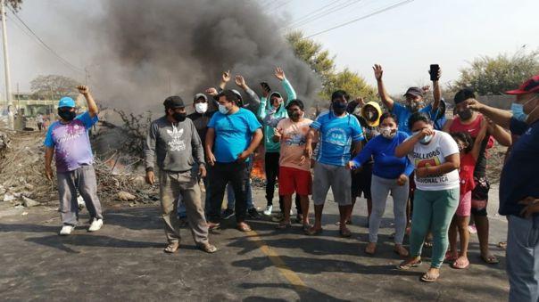 Protestas en Ica