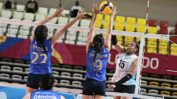 La Copa Nacional de Voleibol se disputa en el Polideportivo de Villa El Salvador