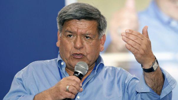 César Acuña se pronunció sobre las modificaciones en la PNP.