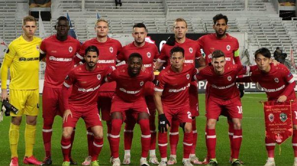 Royal Antwerp venció 3-1 a Ludogorets por la Europa League
