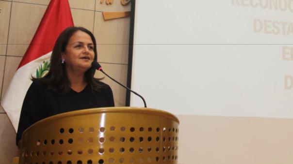 Rosario Bazán, presidenta de la APTCH
