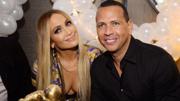 J-Lo y Alex Rodríguez