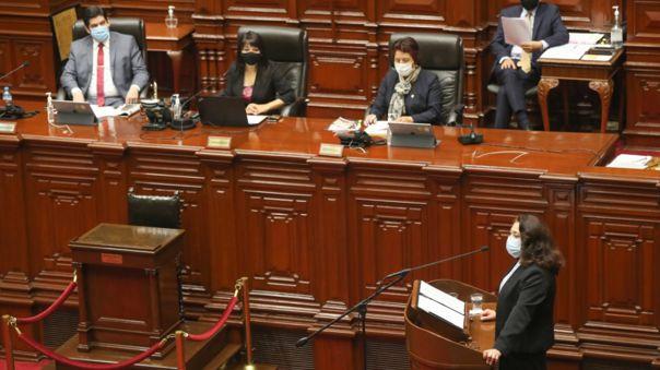 Congreso otorgó el voto de confianza al Gabinete.