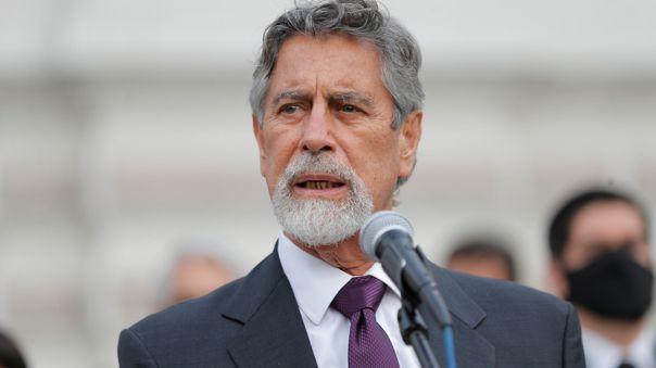 Francisco Sagasti, presidente de la República
