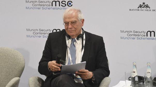 Josep Borrell, alto representante de la Unión Europea para la Política Exterior y de Seguridad.