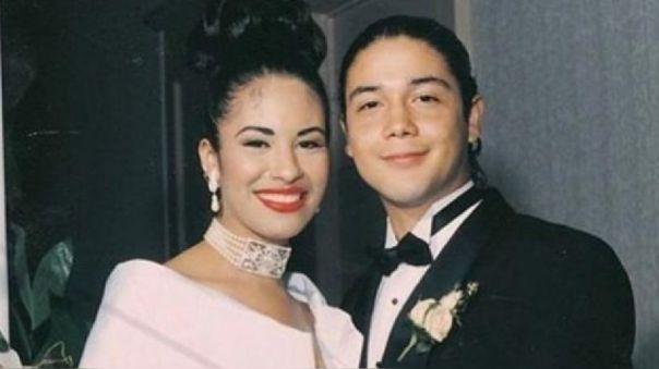 Selena Quintanilla y Chris Pérez