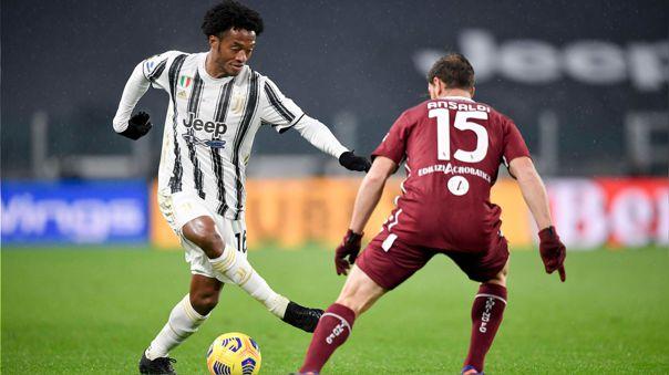 Juan Cuadrado brindó dos asistencias en el triunfo de Juventus