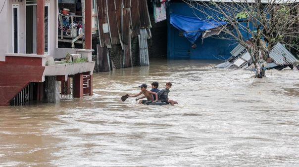 Lluvias causaron el desbordamiento de varios ríos