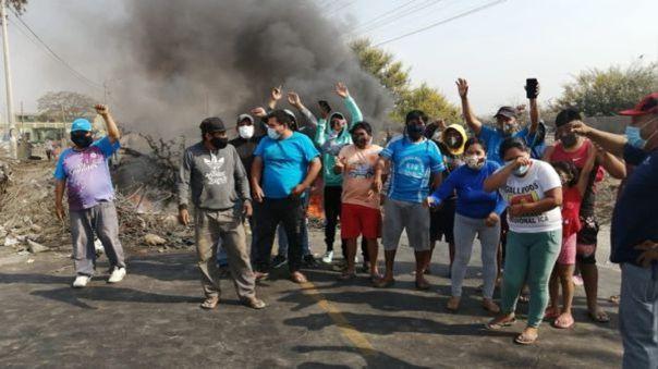 Un joven trabajador falleció durante la protesta.