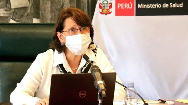 Pilar Mazzetti, ministra de Salud.