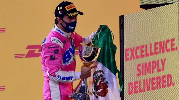 Fórmula 1 | Sergio 'Checo' Pérez logró en el Gran Premio de Sakhir su  primera victoria en F1 | MÉXICO | RPP Noticias