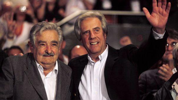 Mujica lamentó la muerte de Tabaré Vázquez