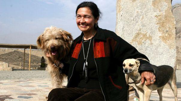 Ruth Shady dirige el Proyecto Especial Arqueológico Caral-Supe.