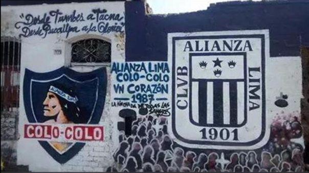 Alianza Lima y Colo Colo generaron un vínculo especial.