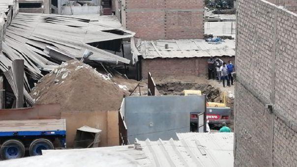 Túnel en excavación