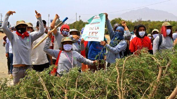 Trabajadores que participaron en protestas denuncian que no los dejaron ingresar a laborar.