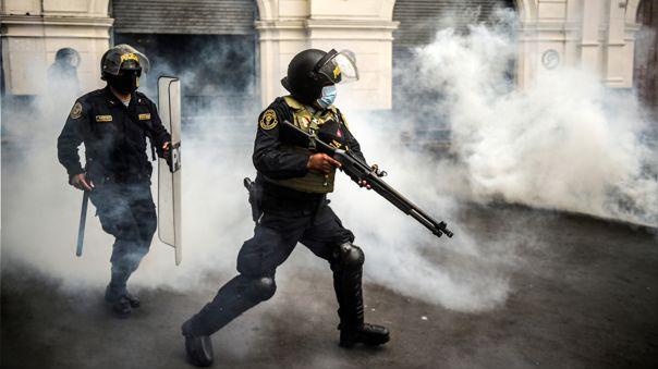 Violeta Bermúdez se pronunció por la violencia generada en las protestas ciudadanas.