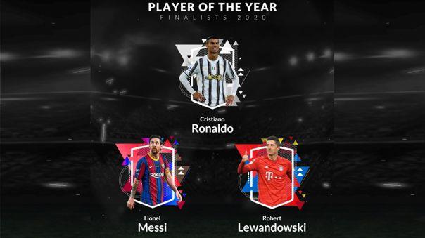 Cristiano Ronaldo recibió el premio al mejor jugador del año