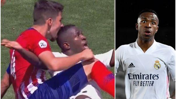 Vinicius Junior y su recuerdo del derbi con el Real Madrid Castilla
