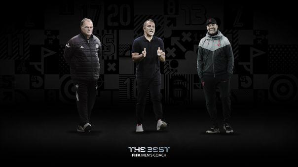 Bielsa, Flick y Kloop, los finalistas al The Best 2020 como mejor entrenador